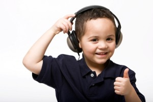 Boy Listening to The Enchnated Forest by ImaginationGYM